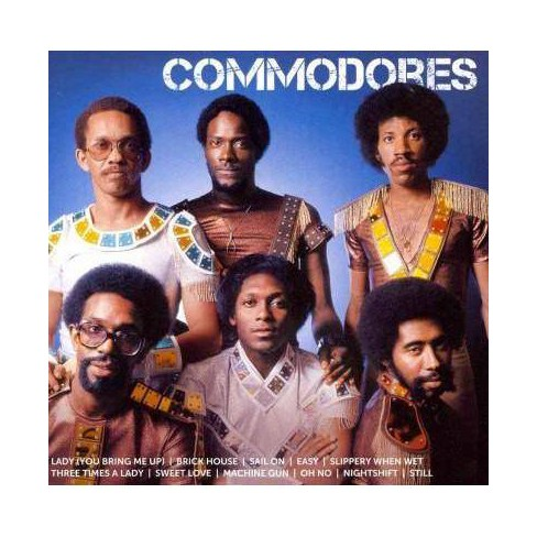 Commodores - ICON: Commodores (CD) - image 1 of 1