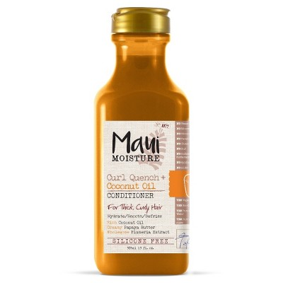 Maui Moisture Curl Quench + Coconut Oil for Thick Curly Hair Conditioner - 13 fl oz