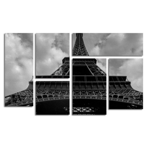 'Eiffel I' by Moises Levy Ready to Hang Multi Panel Art Set - image 1 of 3