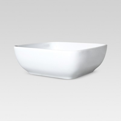 Square Serving Bowl 50oz Porcelain - Threshold™
