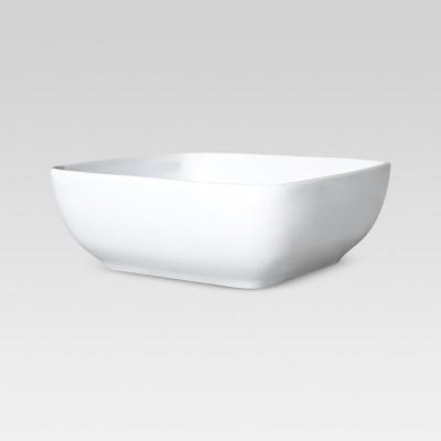 Square Serving Bowl 8in Porcelain - Threshold™