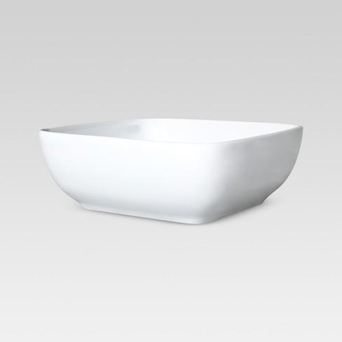 Square Serving Bowl 50oz Porcelain - Threshold™ - image 1 of 1