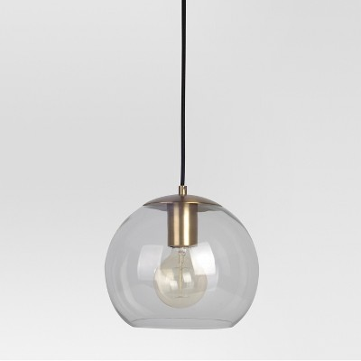 Madrot Small Glass Globe Pendant Ceiling Light - Project 62™