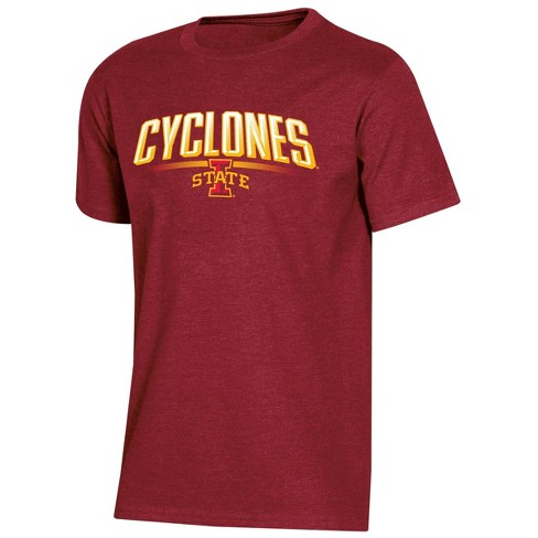 NCAA Iowa State Cyclones Boys' Short Sleeve Crew Neck T-Shirt - image 1 of 2