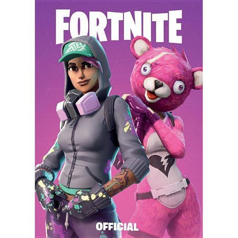 Fornite Official Pocket Notebook - Purple -  (Paperback) - image 1 of 1