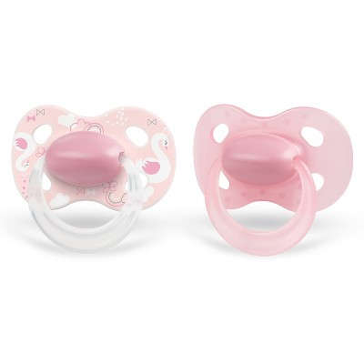 Medela Baby Original Pacifier - Pink 0-6 Months 2pk