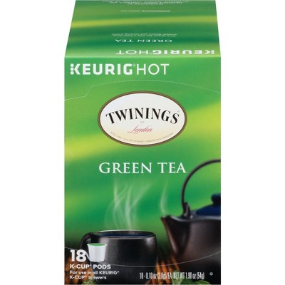 Tea Bags: Twinings Green Tea K-Cup Pods