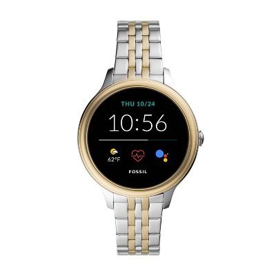 Fossil Gen 5E Smartwatch 42mm - Two-Tone Stainless Steel