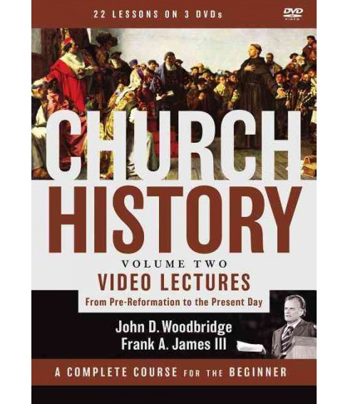 Church History : Video Lectures From Pre-Reformation to the Present Day (Vol 2) (Hardcover) (John D. - image 1 of 1