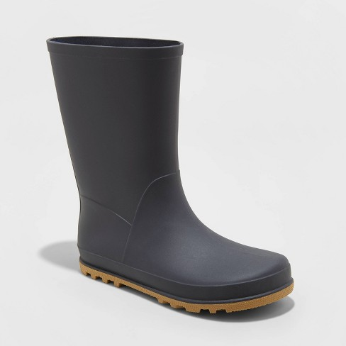 Boys' Vincent Rain Boots - Cat & Jack™ Navy - image 1 of 3