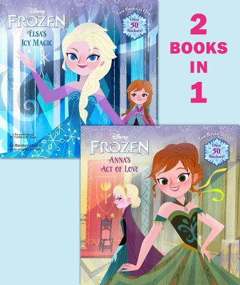 Anna's Act of Love / Elsa's Icy Magic ( Disney Frozen) (Paperback) by Lisa Marsoli