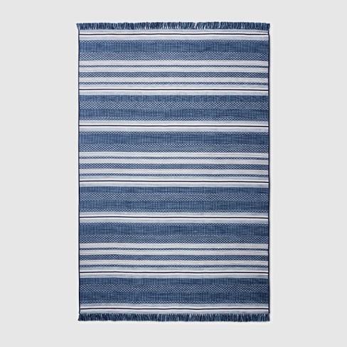Global Stripe Outdoor Rug - Threshold™ - image 1 of 2