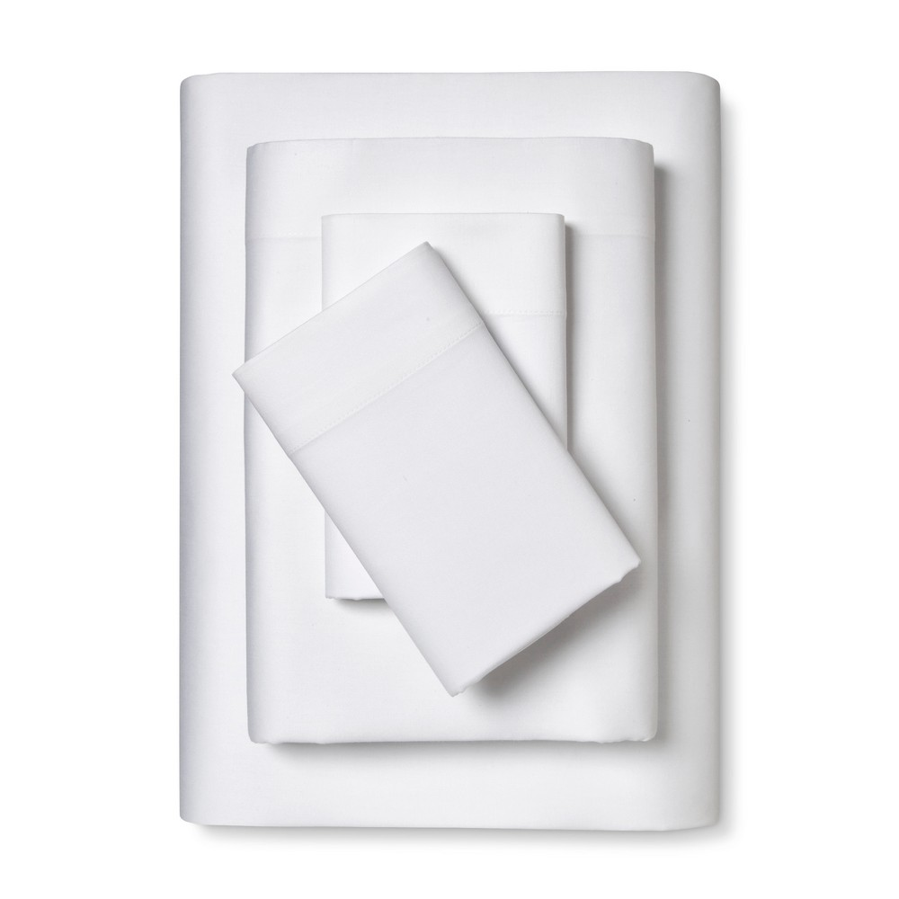 100% Cotton Sheet Set (King) White - Room Essentials