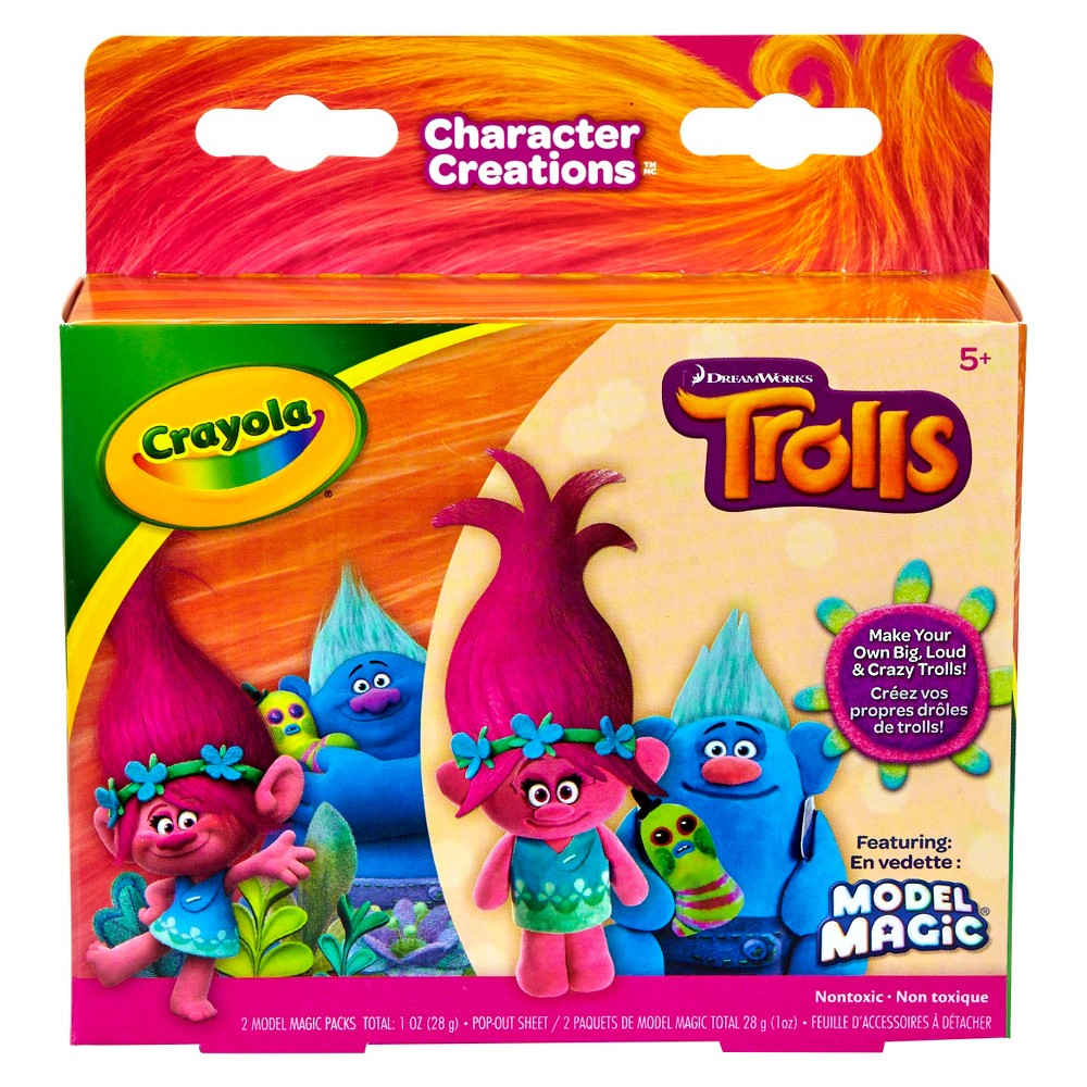 Crayola Trolls Model Magic Kit