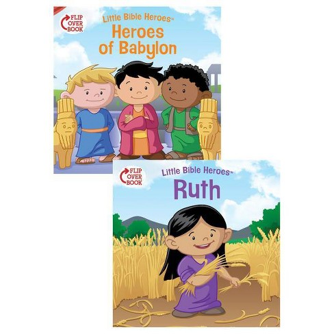 Heroes of Babylon/Ruth - (Little Bible Heroes(tm)) by  Victoria Kovacs (Paperback) - image 1 of 1