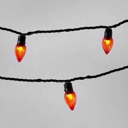 20ct Black Wire Halloween Novelty LED String Lights - Hyde & EEK! Boutique™