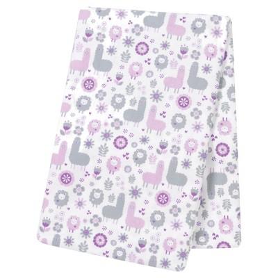 Trend Lab® Jumbo Deluxe Flannel Swaddle Blanket - Llama Friends