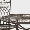 Thessaly 5pc Round Cast Iron Dining Sett - Rustic Brown - Safavieh - image 3 of 3