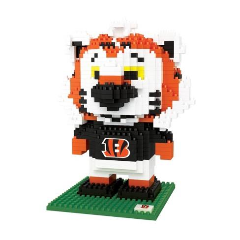 NFL Cincinnati Bengals BRXLZ Mascot Figure 1000pc - image 1 of 1