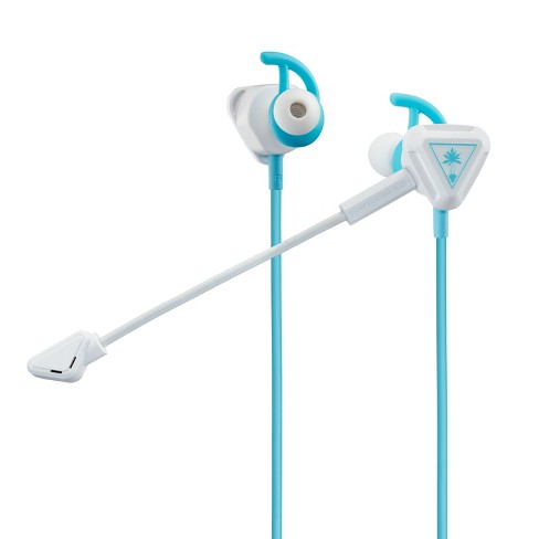 Turtle Beach Battle Buds In-Ear Gaming Headset - White/Teal - image 1 of 4