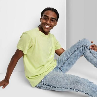 Men's Regular Fit Short Sleeve Crewneck T-Shirt - Original Use™ Lime Green