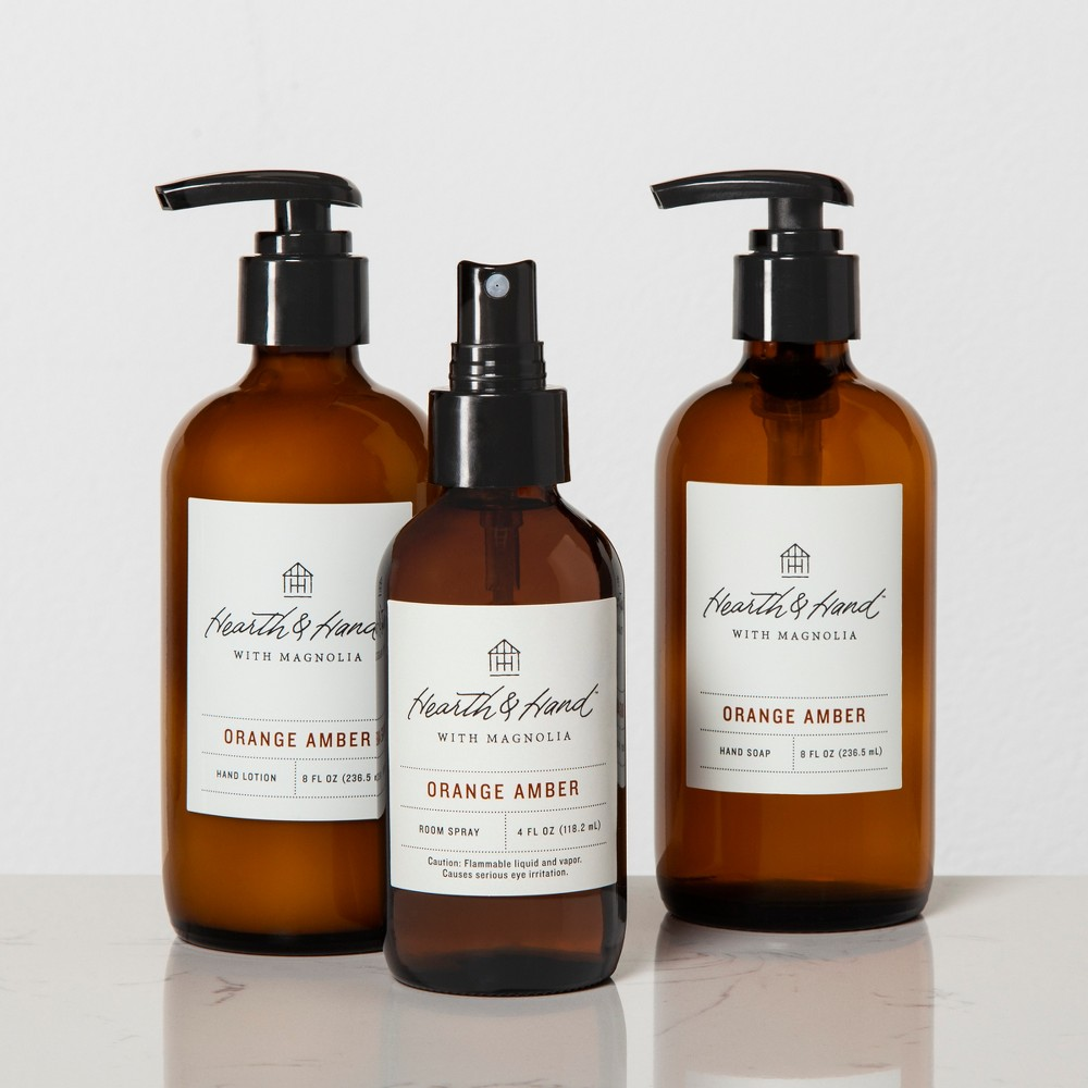 Bath And Body Gift Set - Orange Amber - Hearth & Hand with Magnolia