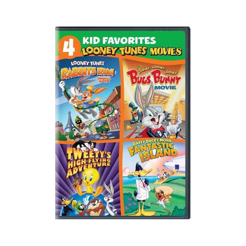4 Kid Favorites Looney Tunes Movies Dvd 2020