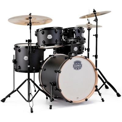 Mapex Storm Fusion 5-Piece Drum Set Deep Black