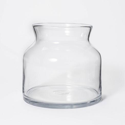 "8"" x 8"" Short Glass Vase - Threshold™ designed with Studio McGee - image 1 of 4"