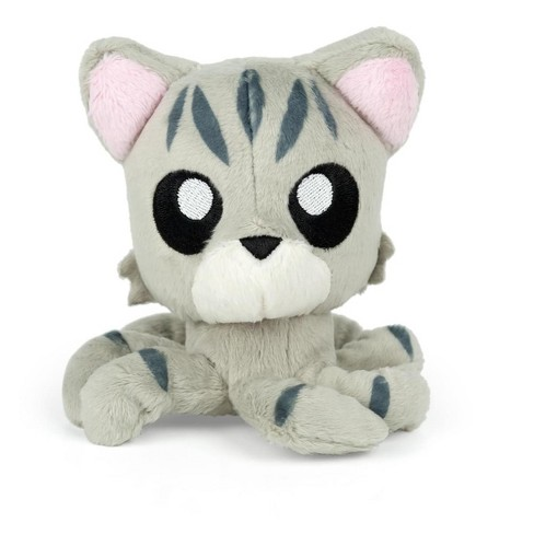 Tentacle Kitty Tentacle Kitty Little Ones 4 Inch Plush Grey Tabby Target