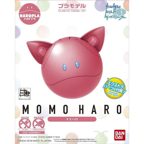 Bandai Hobby Gundam Build Divers Haro Pla 04 Momo Momoharo Pink Model Kit - image 1 of 3