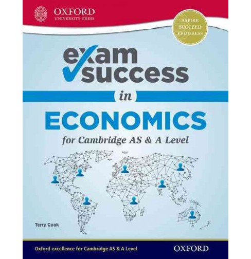 Exam Success in Economics for Cambridge AS & A Level -  by Terry Cook (Paperback) - image 1 of 1