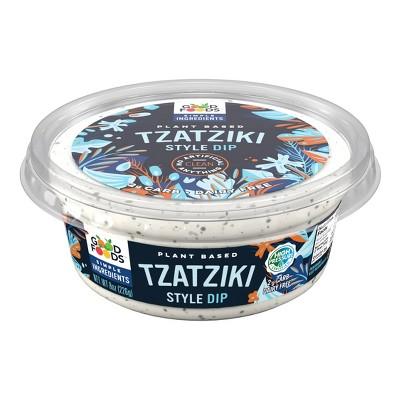 Good Foods Plant Based Tzatziki Style Dip - 8oz