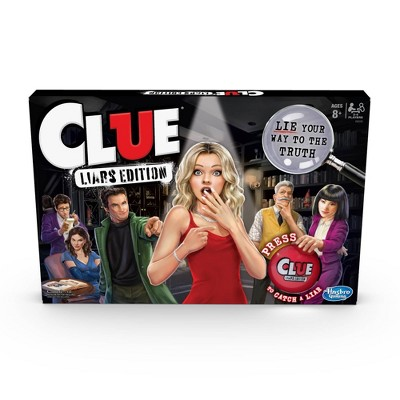 Clue Liars Edition Game