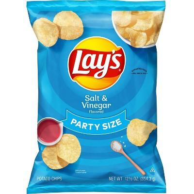 Lays Salt and Vinegar - 12.5oz