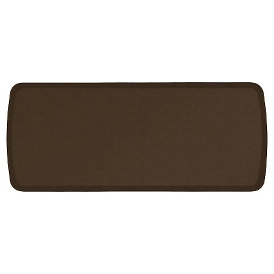 Gelpro Elite Vintage Leather Comfort Kitchen Mat - Rustic Brown (20 X48 )