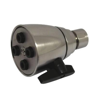Four Jet Solid Brass 2-inch Shower Head Satin Nickel - Kingston Brass