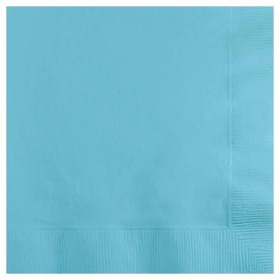 50ct Pastel Blue Disposable Napkins