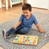 Melissa & Doug Sound Puzzles Set: Numbers and Alphabet - Wooden Peg Puzzles 47pc - image 4 of 4