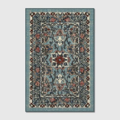 2'X3' Floral Tufted Accent Rugs Blue - Threshold™