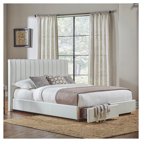 Delaney Upholstered Bed With Storage - Fashion Bed Group : Target