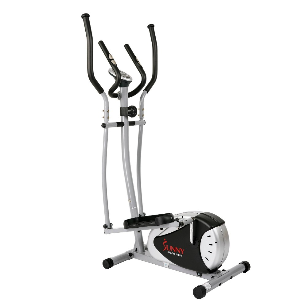 Sunny Health And Fitness Magnetic Elliptical Bike Black