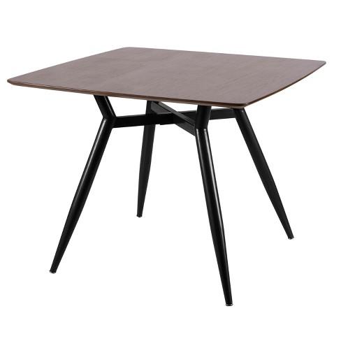 Clara Mid Century Modern Square Dining Table Lumisource Target