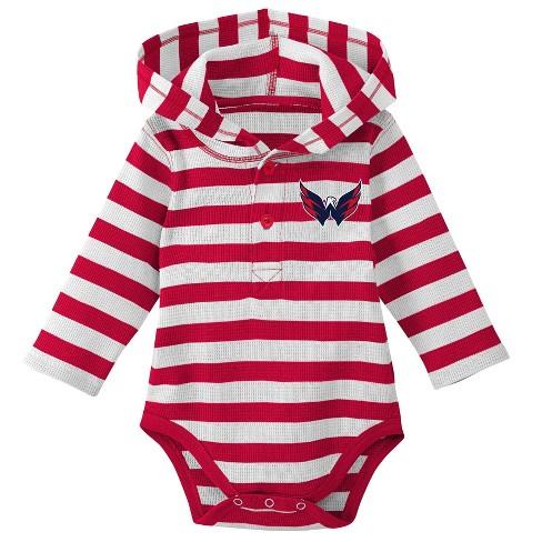 NHL Washington Capitals Boys  Newborn Infant Sleeper Bodysuit   Target 12e2c4a90