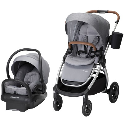 Maxi-Cosi Adorra All-in-One Modular Travel System with Mico Max 30 Infant Car Seat - Nomad Gray