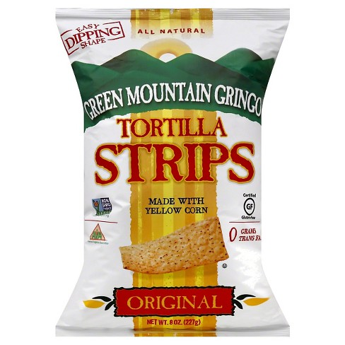 Green Mountain Gringo Tortilla Strips- 8 0z (Pack of 12) - image 1 of 1