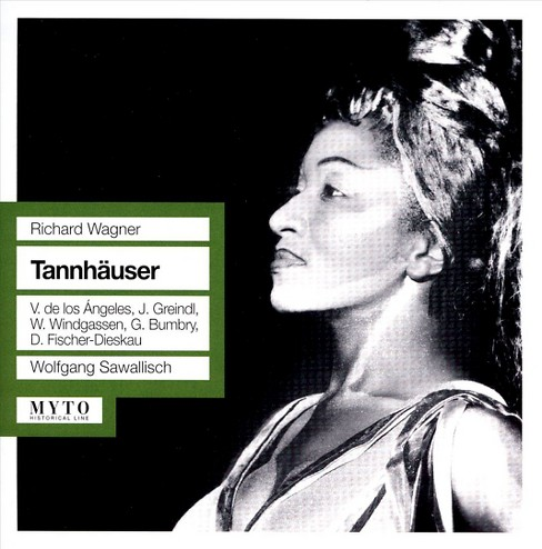 Vict de los angeles - Wagner:Tannhauser (CD) - image 1 of 2