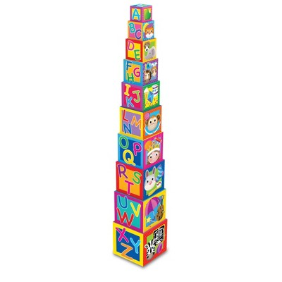 The Learning Journey Play and Learn Stacking Cubes