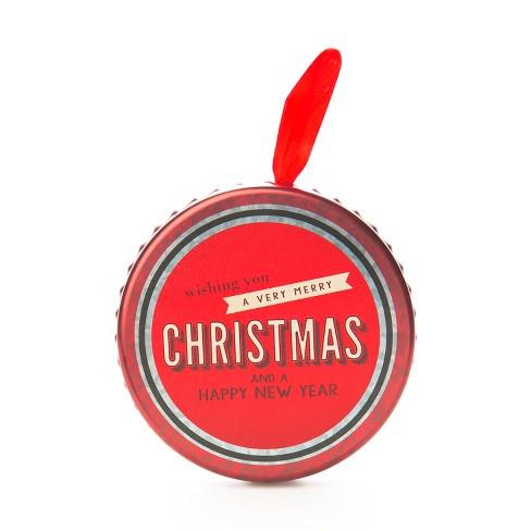 Bottle Cap Shaped Tin Flocked Gift Card Holder - Wondershop™ - image 1 of 1
