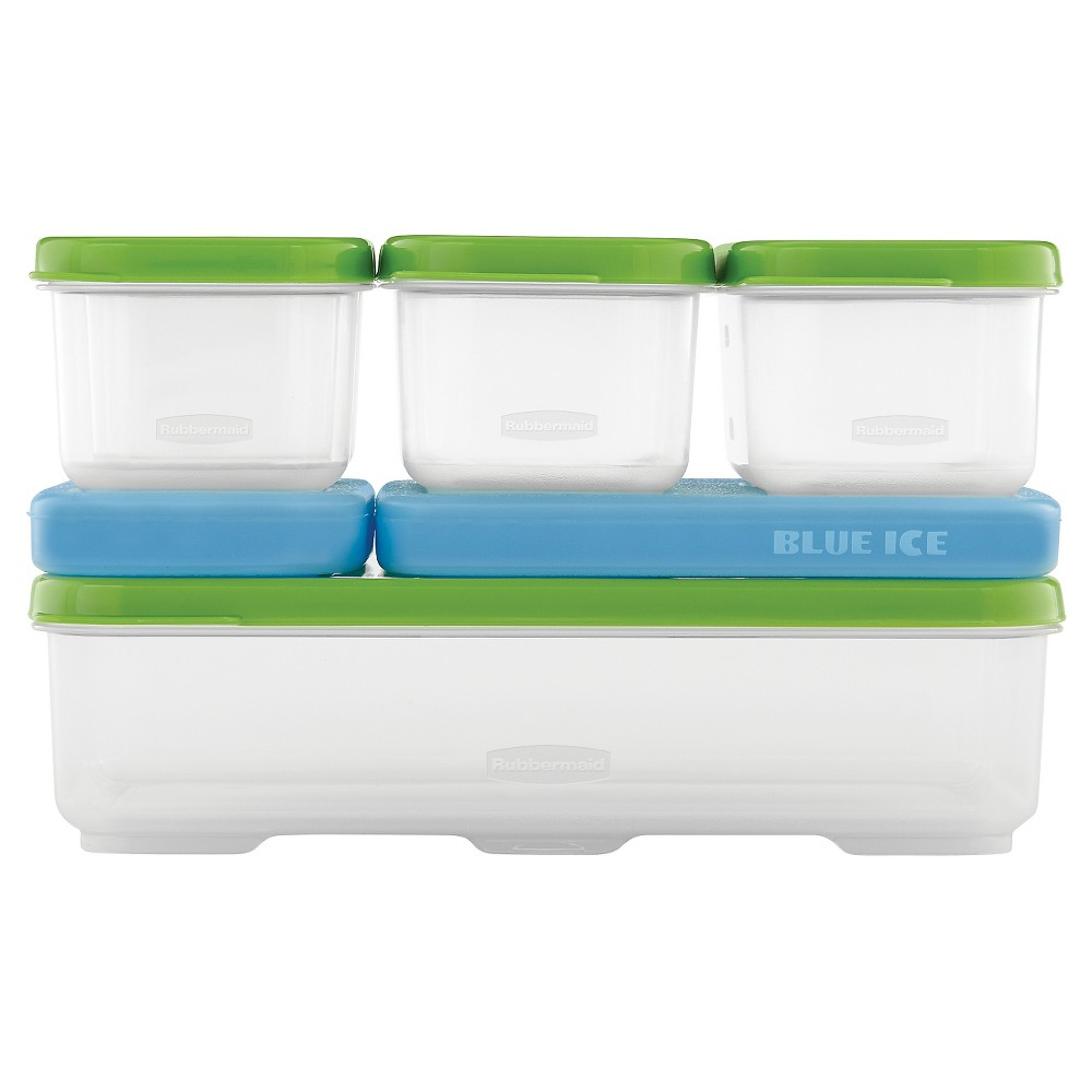 Rubbermaid LunchBlox Entree Container Kit, Green